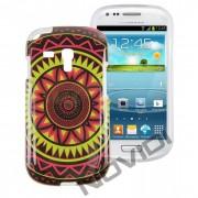 Case Personalizada Arabescos Coloridos para Samsung Galaxy S3 Mini I8190 - Modelo 4