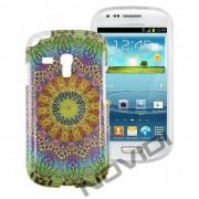 Case Personalizada Arabescos Coloridos para Samsung Galaxy S3 Mini I8190 - Modelo 6