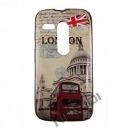 Capa Personalizada Série com Glitter British Bus para Motorola Moto G
