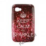 Capa Personalizada Keep Calm and Sparkle para LG Optimus L4 II E455 #sohoje