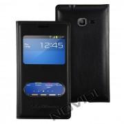 Capa View Flip Cover para Galaxy Trend Lite Duos GT S7392 - Cor Preta