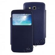 Capa Flip Cover para Samsung Galaxy Gran 2 Duos TV G7102 - Cor Azul Marinho