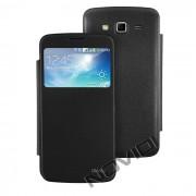 Capa Flip Cover para Samsung Galaxy Gran 2 Duos TV G7102 - Cor Preta