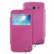 Capa Flip Cover para Samsung Galaxy Gran 2 Duos TV G7102 - Cor Rosa