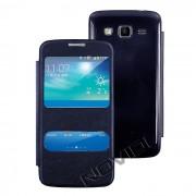 Capa Flip Cover para Galaxy Win Pro G3812 - Cor Azul Marinho