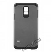 Case Slim Armor para Samsung Galaxy S5 - Cor Preto / Cinza