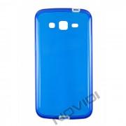 Capa em TPU Premium com Bordas para Samsung Galaxy Gran 2 Duos TV G7102  - Cor Azul / Branca
