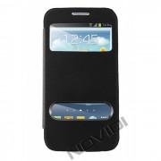 Capa Flip Cover para Galaxy Win Duos I8552 - Cor Preta