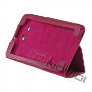 Capa Smart Cover dobravél Samsung Galaxy Tab 3 Lite T110 / T111 - Cor Rosa