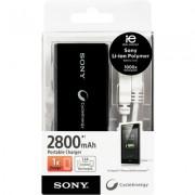 Carregador Portatíl Universal Sony CP-V3 / 2800 MAH - Cor Preto