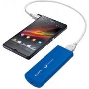 Carregador Portatíl Universal Sony CP-V3 / 2800 MAH - Cor Azul
