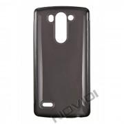 Kit Capa de TPU Premium + Película Transparente para LG G3 Beat Dual - Cor Grafite