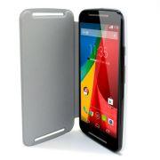 Capa Flip para Motorola novo Moto G 2ª Geração - Cor Branco
