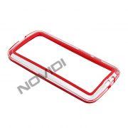 Capa Bumper para Motorola Moto G 2ª Geração - Cor Vermelha