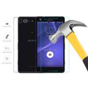 Kit 2 Películas de Vidro Temperado Frente e Verso para Sony Xperia Z3 Mini Compact
