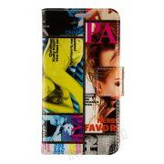 Capa Flip Cover Estampada Revistas para Samsung Galaxy Gran 2 Duos TV - Modelo 2