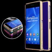 Bumper de alumínio Luxury para Sony Xperia Z2