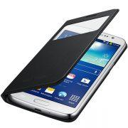 Capa S View Cover para Samsung Galaxy Gran 2 Duos - Original Samsung - Cor Preta
