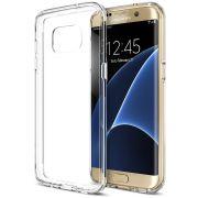 Capa de TPU para Samsung Galaxy S7 Edge - Cor Transparente