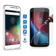 Kit Pelicula de Vidro + Capa de TPU para Motorola Moto G4 Plus - Transparente