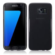 Capa de TPU para Samsung Galaxy S7 - Cor Grafite
