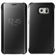 Capa Protetora Clear View Galaxy S7 - Cor Preta