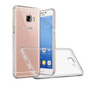 Capa TPU Transparente + Película de Vidro Premium para Samsung Galaxy J7 Prime