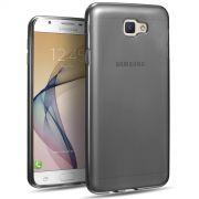 Kit 2 em 1 Película de Vidro Premium e Capa Anti Impacto Grafite para Samsung Galaxy J7 Prime