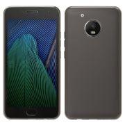 Capa Anti Impacto para Motorola Moto G5 Plus - Cor grafite