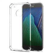 Capa Fusion Shell Anti-Impacto para Motorola Moto G5 - Cor Transparente