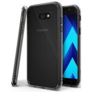 Capa Anti Impacto Grafite + Película de Vidro para Samsung Galaxy A3 2017