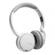 Fone de Ouvido sem fio Bluetooth 4x1 Estéreo com Microfone integrado, Entrada Micro SD - Branco