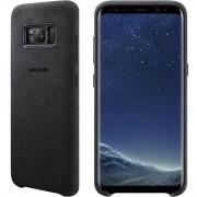 Capa Protetora Alcantara Galaxy S8 Plus - Original Samsung - Cor Grafite