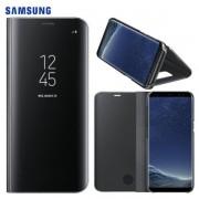 Capa Protetora Clear View Standing para Samsung Galaxy S8  - Original Samsung - Cor Preta