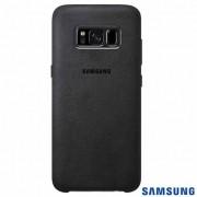 Capa Protetora Alcantara Galaxy S8 Plus - Original Samsung - Cor prata