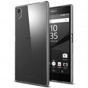 Kit Capa TPU + Película de Vidro Temperado para Sony Xperia Z5 Premium 5.5
