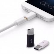 Adaptador Micro USB/8 Pinos para USB Tipo C 3.0 - Compatível Moto Z2 Play