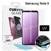 2 Película Vidro Cola Líquida Uv Galaxy Note 9
