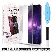 Película Vidro Cola Líquida Uv + Câmera Galaxy S8 Plus