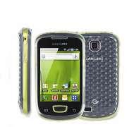 Capa de silicone Premium para Samsung Galaxy Mini S5570 - Cor Transparente