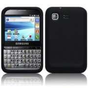 Capa de Silicone Premium para Samsung Galaxy Pro GT B7510 - Cor preta