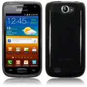 Capa TPU Premium para Samsung Galaxy W GT-I8150- Cor Preta