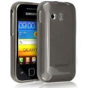 Capa TPU Premium + Película protetora para Samsung Galaxy Y GT-S5360