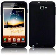 Capa de silicone Premium para Samsung Galaxy Note N7000  - Cor Preto