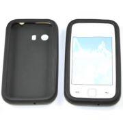 Capa de silicone para Samsung Galaxy Y Duos GT-S6102 - Cor preto