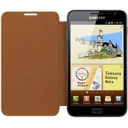 Capa em Couro Flip Samsung EFC-1E1COE para Galaxy Note N7000 - Marron