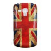 Capa Personalizada série Bandeira envelhecida Inglaterra para Samsung Galaxy S Duos S7562