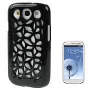 Capa Personalizada para Samsung Galaxy S3 S III i9300 - Preto