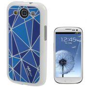 Capa Personalizada Diamante para Samsung Galaxy S3 S III i9300 - Azul