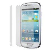 Kit com 2 Películas protetora Pro fosca anti-reflexo / anti-marcas de dedos para Samsung Galaxy S III Mini I8190
